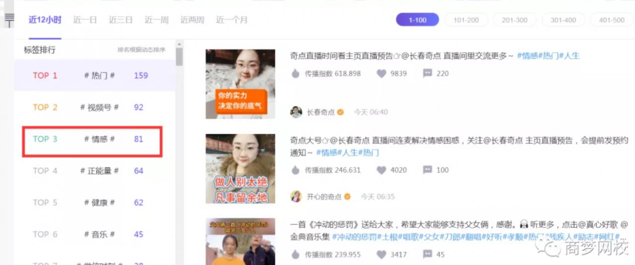 【网络营销项目】情感视频号,一个快速变现的暴利刚需项目!